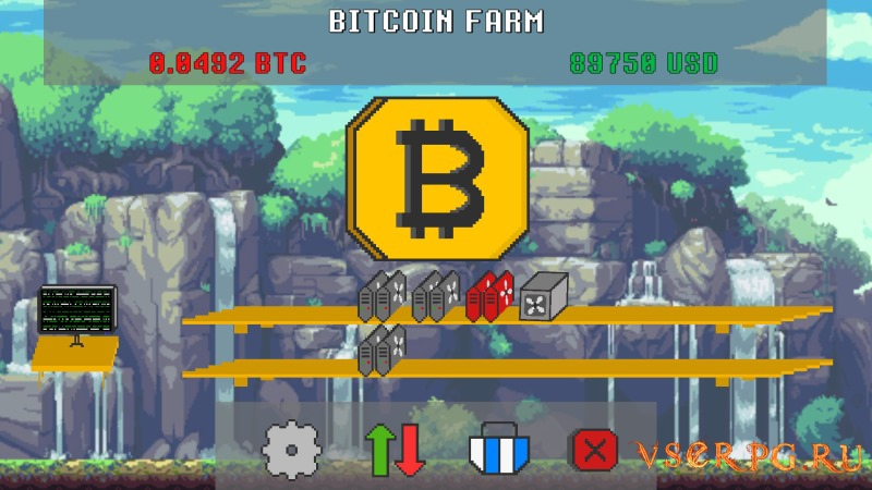 Bitcoin Farm screen 3