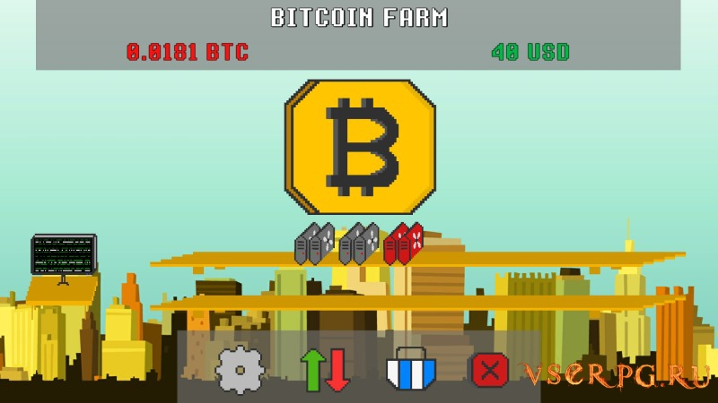 Bitcoin Farm screen 2