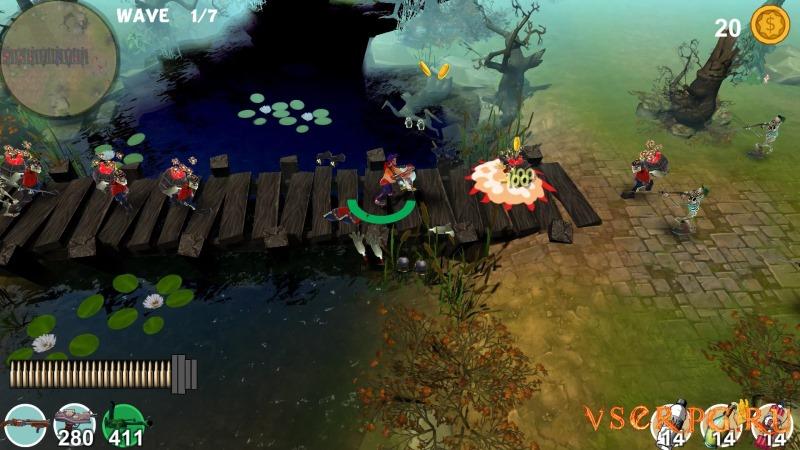 Mad Gardener Zombie Massacre screen 2
