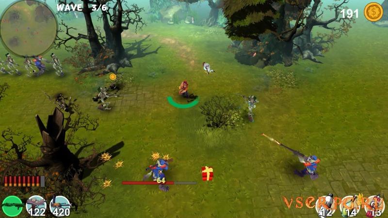 Mad Gardener Zombie Massacre screen 1