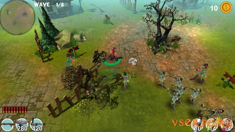 Mad Gardener Zombie Massacre screen 3