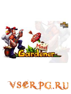Постер игры Mad Gardener Zombie Massacre