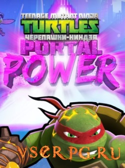 Постер игры Teenage Mutant Ninja Turtles Portal Power
