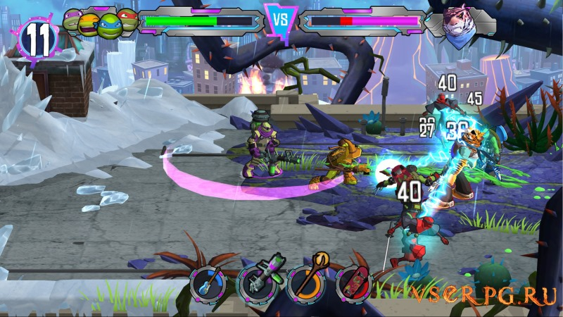 Teenage Mutant Ninja Turtles Portal Power screen 2