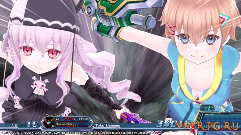Omega Quintet [PC] screen 2