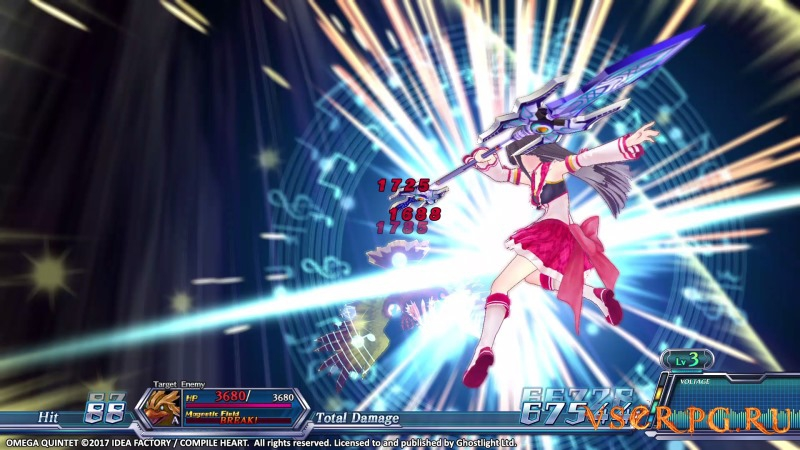 Omega Quintet [PC] screen 1