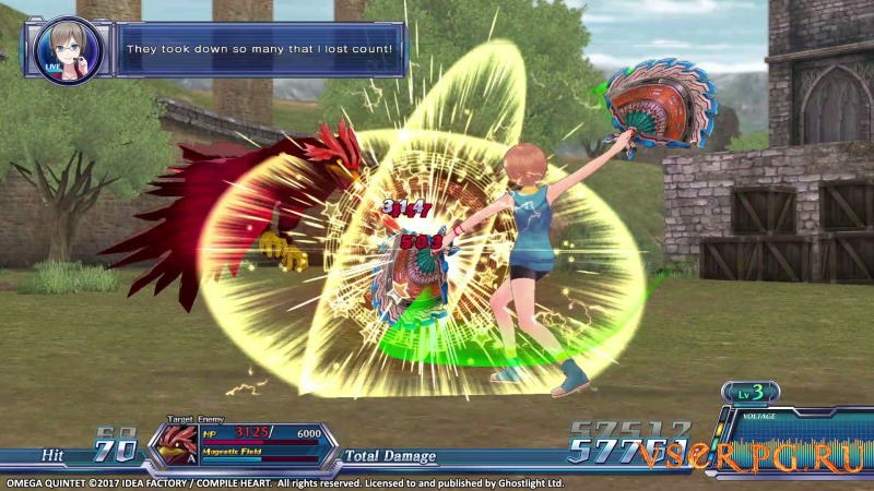 Omega Quintet [PC] screen 3