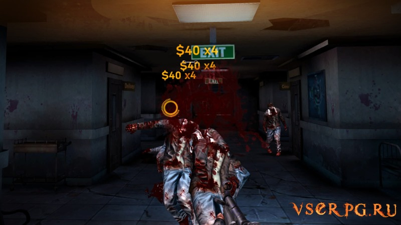 DEAD TARGET VR Zombie Intensified screen 1
