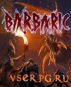 Постер игры BARBARIC