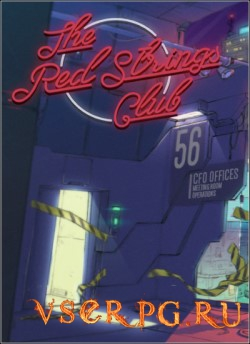 Постер игры The Red Strings Club