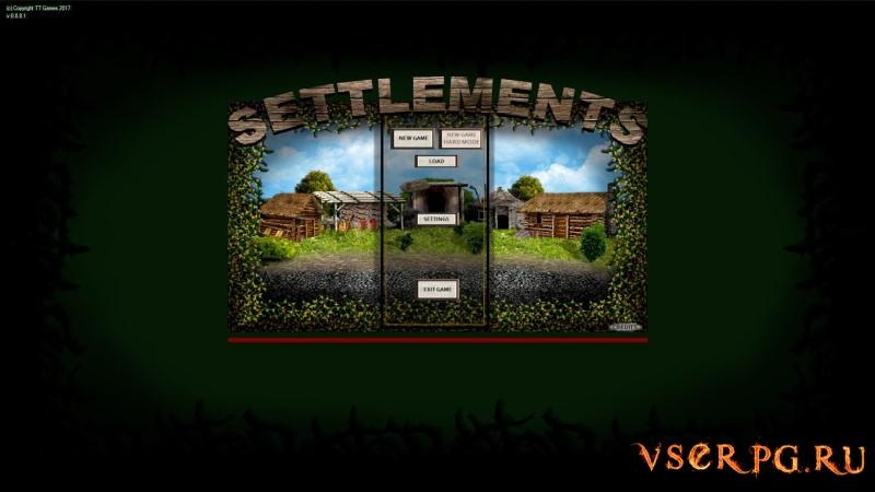 Settlements (2018) screen 1