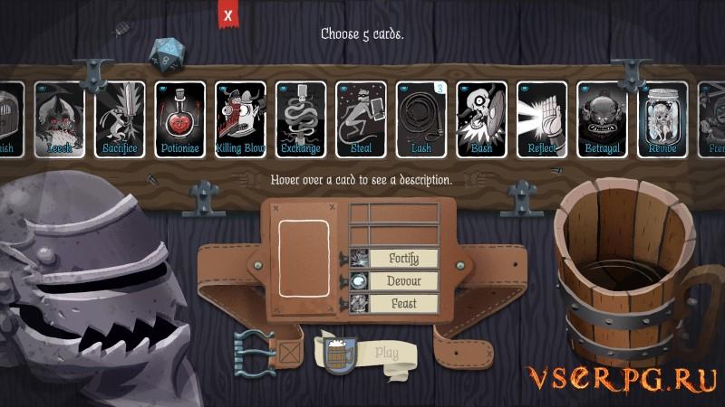 Card Crawl screen 3
