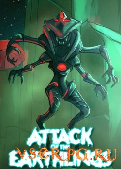 Постер игры Attack of the Earthlings