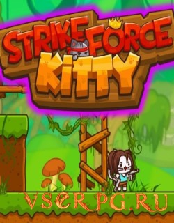 Постер игры StrikeForce Kitty