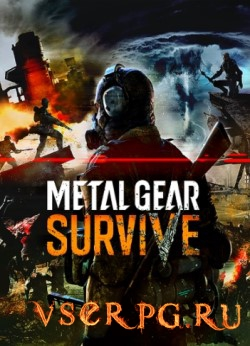 Постер игры Metal Gear Survive