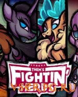 Постер игры Them's Fightin' Herds