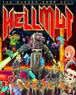 Постер игры Hellmut: The Badass from Hell