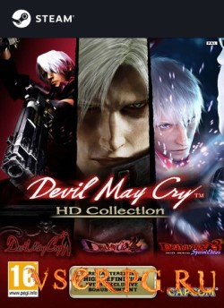 Постер игры Devil May Cry HD Collection