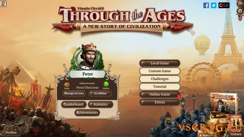 Through the Ages screen 3