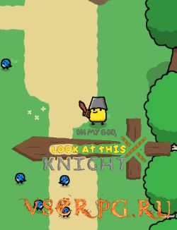 Постер игры OH MY GOD, LOOK AT THIS KNIGHT