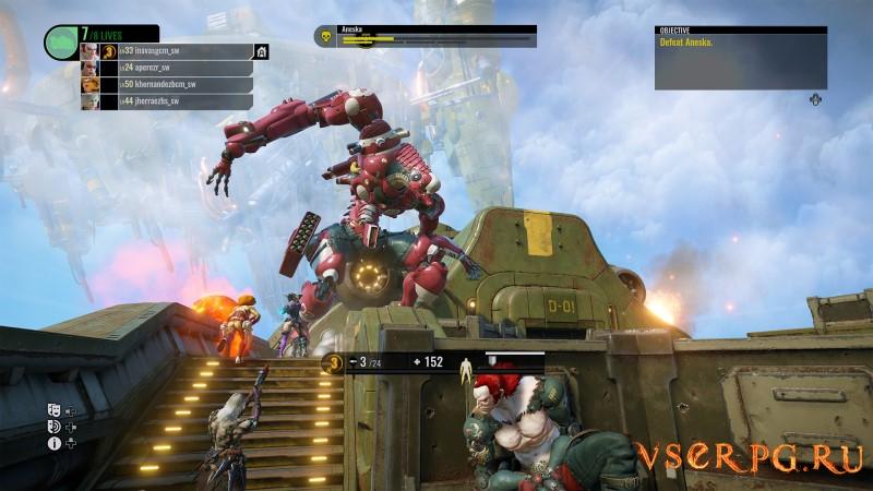 Raiders of the Broken Planet - Hades Betrayal Campaign screen 1