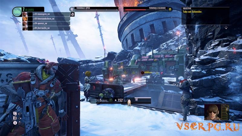 Raiders of the Broken Planet - Hades Betrayal Campaign screen 3