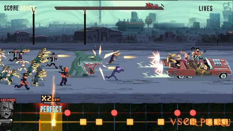 Double Kick Heroes screen 1