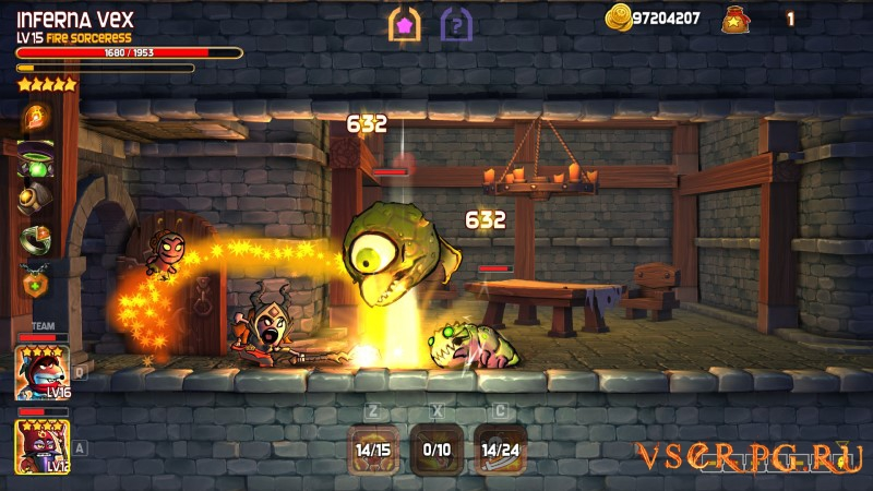 Dungeon Stars screen 2