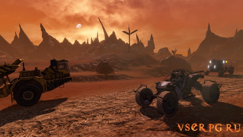 Red Faction Guerrilla Re-Mars-tered screen 1