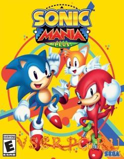 Постер игры Sonic Mania Plus