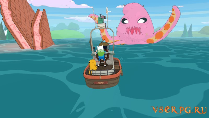 Adventure Time: Pirates of the Enchiridion screen 2