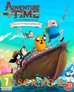 Постер игры Adventure Time: Pirates of the Enchiridion