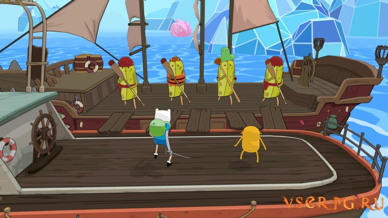 Adventure Time: Pirates of the Enchiridion screen 3