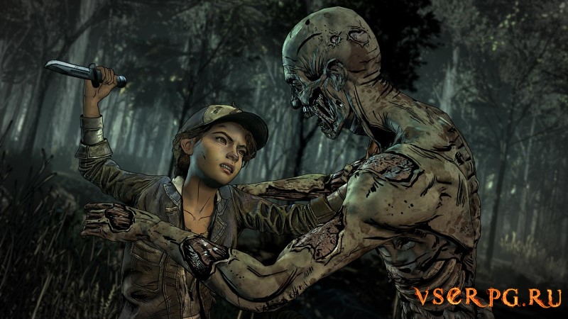The Walking Dead: The Final Season screen 1