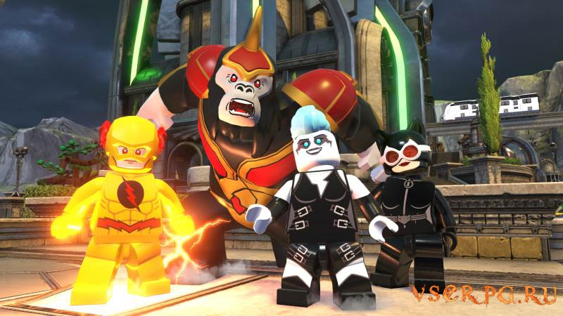 Lego DC Super-Villains screen 1