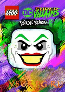 Постер игры Lego DC Super-Villains
