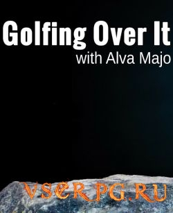 Постер игры Golfing Over It with Alva Majo