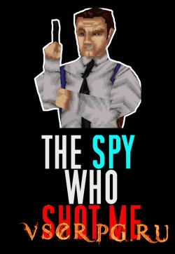 Постер игры The spy who shot me