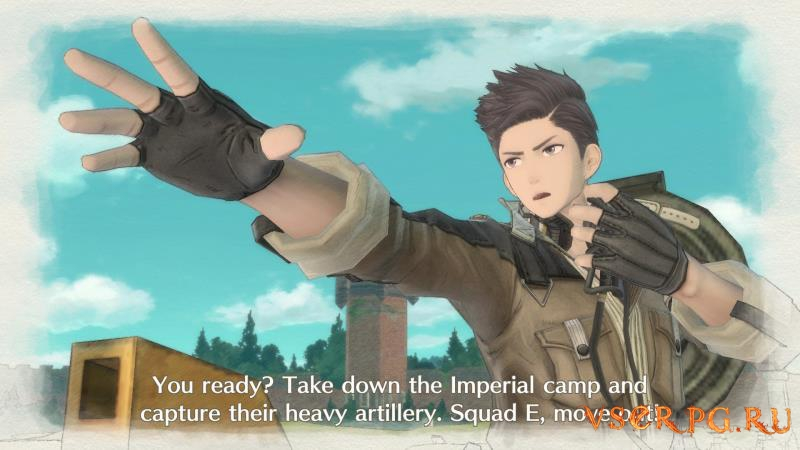 Valkyria Chronicles 4 screen 2