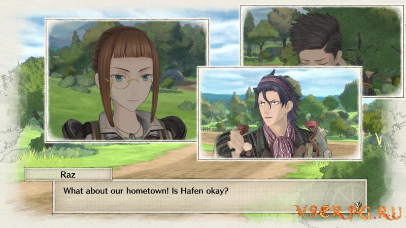 Valkyria Chronicles 4 screen 1