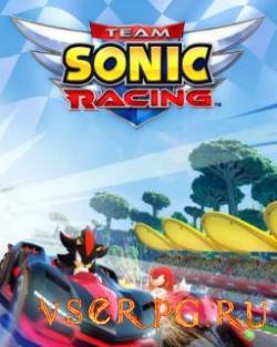 Постер игры Team Sonic Racing