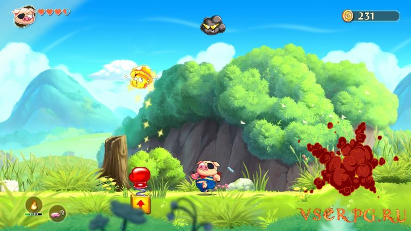Monster Boy and the Cursed Kingdom screen 1