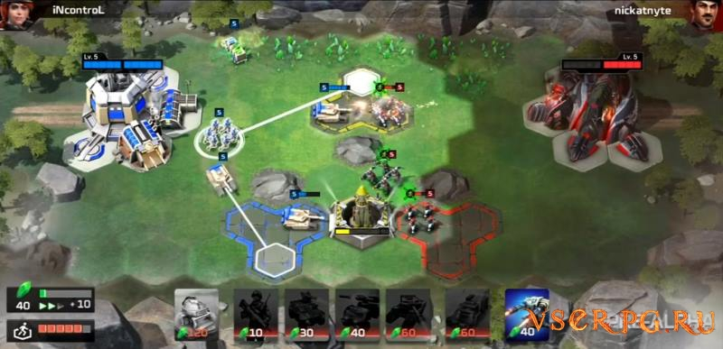 Command & Conquer: Rivals screen 1