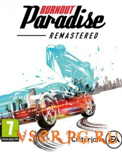 Постер игры Burnout Paradise Remastered