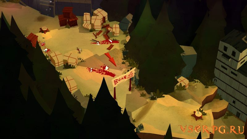 Bloodroots screen 2