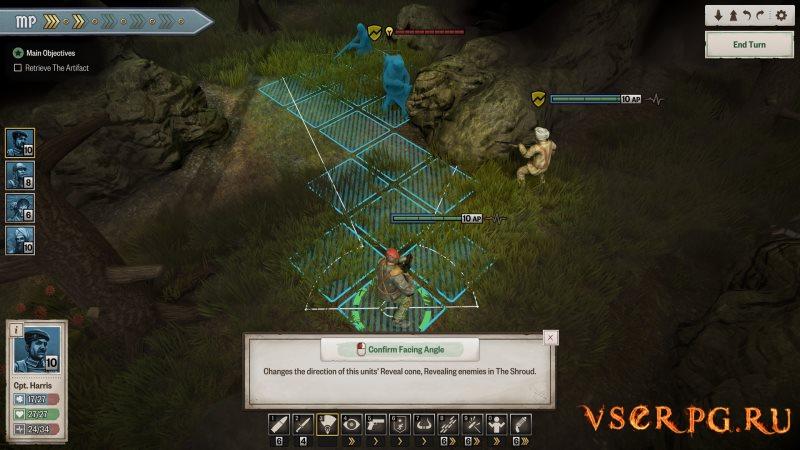 Achtung Cthulhu Tactics screen 1