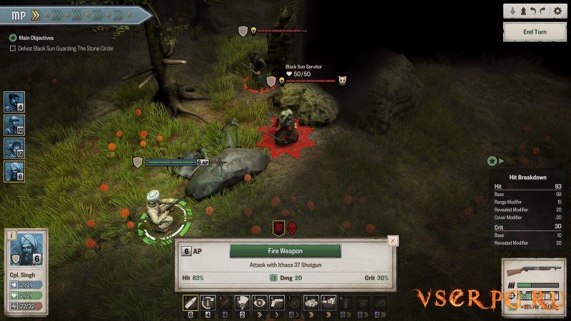 Achtung Cthulhu Tactics screen 3