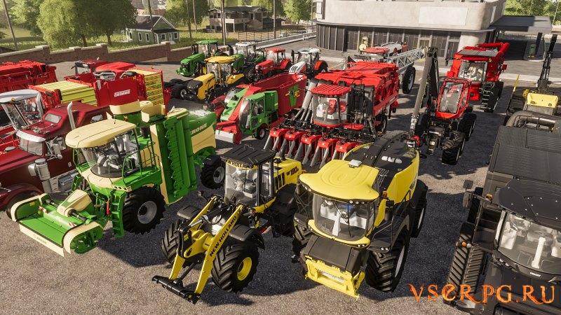 Farming Simulator 19 screen 1