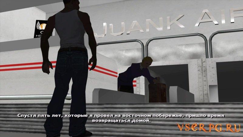 Как гта сан андреас сделать на русском
